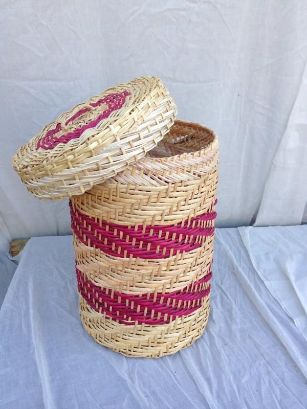 Canastos y cesta para ropa mimbre econ mico varios rusti - Canastos de mimbre ...