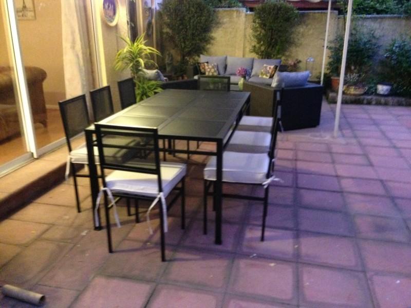 Comedor fierro modelo el bosque 8 sillas metal rusti - Comedor terraza ...