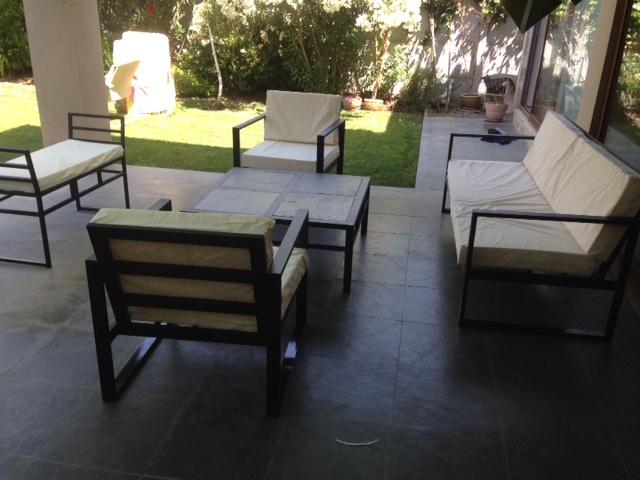 Living fierro modelo los andes 30 to rusti home for Liquidacion muebles terraza