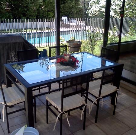 Comedores de terraza fierro archivos   rusti home,armonia en tu hogar,