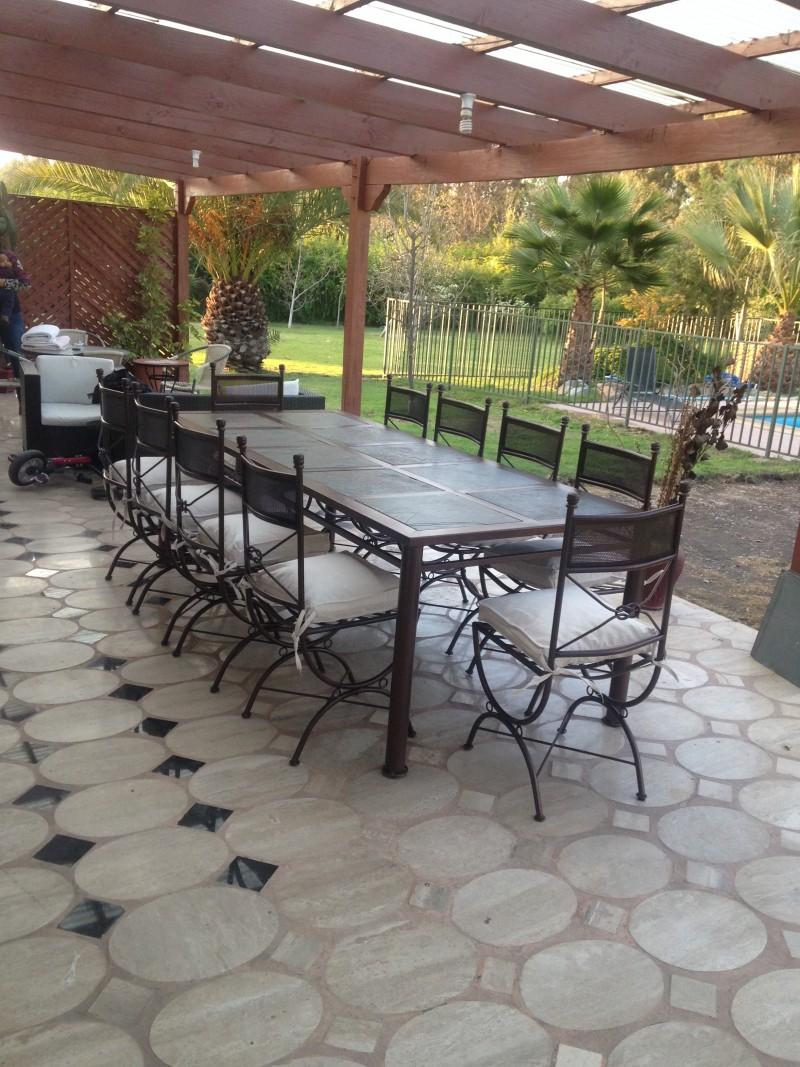 Ofertas muebles terraza idea creativa della casa e dell for Comedor para terraza