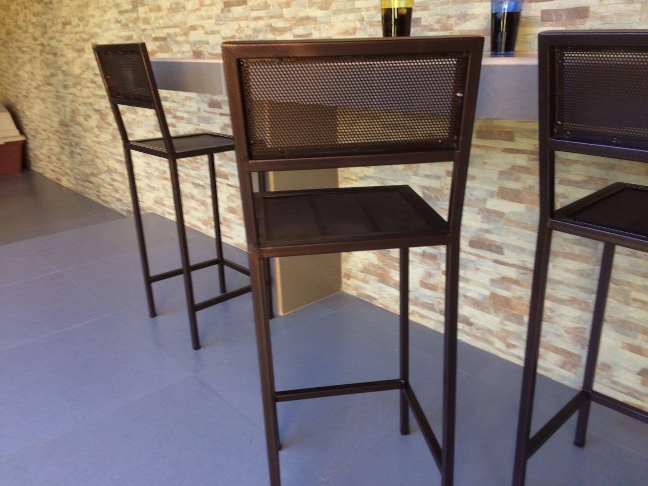 Pisos Bar Fierro Altamente Resistente Rusti Home
