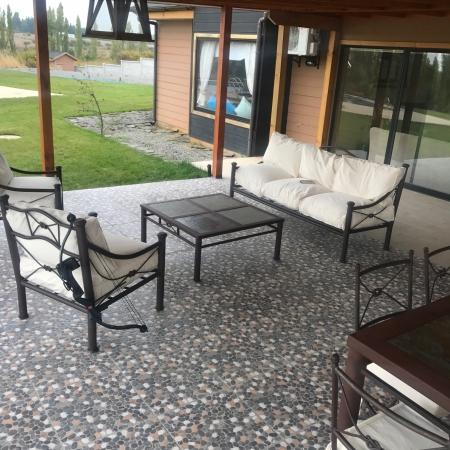 Living de terraza met lico seccional peque o 30 dcto for Terrazas sodimac 2016