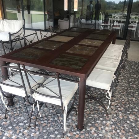 Comedores De Terraza Fierro Archivos Rusti Home Armonia En